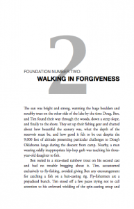Chapter 2: Walking in Forgiveness